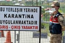 Erciş'te bir mahalle karantina altına alındı