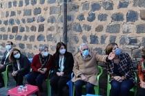 HDP, DBP ve DTK heyetinden Ahmet Türk'e taziye ziyareti