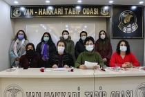 Van'da  STÖ'ler: Siyasi iktidar kadın bedeninden elini çeksin