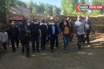 HDP, Gürpınar'daki yurttaşları ziyaret etti