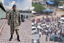 Roman Yurttaşlar Sarmaşık'ın şüpheli ölümünü protesto etti