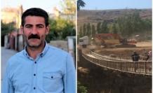 HDP Van Milletvekili Sarısaç Muradiye şelalesi'ni soyluya sordu