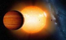 Yeni gezegen bulundu: Balon gibi şişiyor!