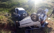Çatak'ta Trafik kazası: 8 yaralı
