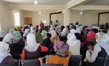 Özalp'ta kadına dönük seminerlere yoğun ilgi