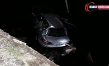 Çaldıran'da Otomobil köprüden uçtu: 2 yaralı