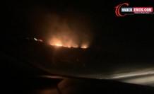 Bagok'ta başlayan yangın devam ediyor