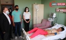 Van'da Askerler tarafından vurulan çocuğa ziyaret
