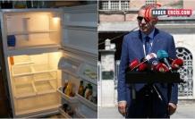 Buzdolabının içi boş ama satışları iyi!