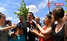 İmamoğlu: Parti ayırmaksızın bizi kapımız herkese açık