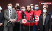 Çerkezoğlu: Kıdem tazminatı kırmızı çigimizdir