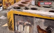 Pompeii'de Sokak Yemeği Sunan Freskli Dükkan Ortaya Çıktı