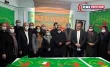 Demokratik Bölgeler Partisi Erciş'te yeni yönetimini belirledi