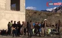 Şantiye basan polisler: Hendekleri mi özlediniz?