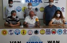 KESK Van Şubesi: Günlük vaka sayısı 130 kişi, okulların açılmasıyla sorunlar derinleşecek