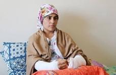 Van'da ölümden dönen kadın yaşadıklarını anlattı