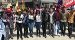 Van'da alanlara çıkan emekçiler 1 Mayıs'ı kutladı
