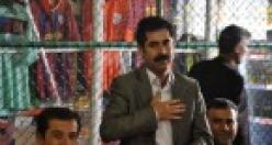 Ahmet Türk ve BDP vekilleri Erciş,Muradiye ve Çald