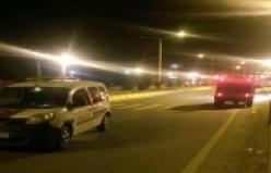 Erciş Belediye'sinin önünde bombalı araç paniği