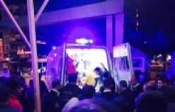 Polis'ten Kaçan Motosikletli şahıslar kaza yaptı 2 Yaralı