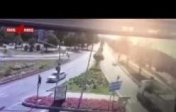 Elazığ Emniyet Müdürlüğü'ne Saldırı Anı Kamerada