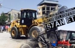 İş yerleri yıkılan esnaflar Erciş Belediyesine isyan etti