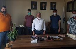 AKP'li işçilerden AKP'li Ağrı Belediyesi...