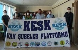 KESK Van Şubesi: Siyasal özgürlüklerin yok edilmesi...