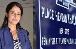 Rojava'da katledilen Kürt siyasetçi Hevrin Halef'in adı Fransa'da bir meydanda yaşayacak