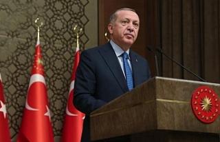 Erdoğan: Bir grup, kültür ve sanat dünyamızı...