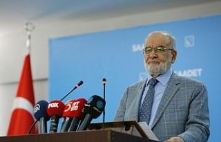 Saadet lideri Karamollaoğlu: İktidar tövbeyi seçim...