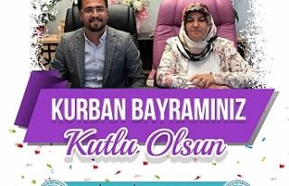 Erciş Belediyesi Eş başkanlarından Kurban bayramı...