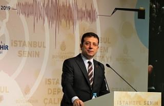 İmamoğlu: Kanal İstanbul ihanet değil cinayettir