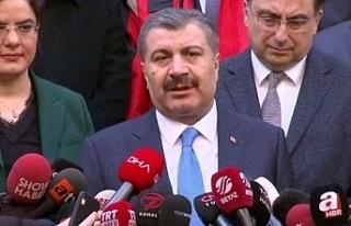 Sağlık Bakanı Koca: Tahliye edilen 42 kişide virüs...
