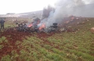 Suriye'nin helikopteri düşürüldü