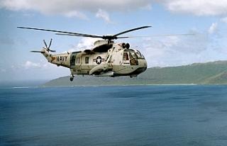 NATO askeri helikopteri denizde kayboldu