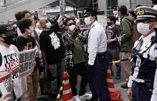 Japonya'da darp edilen Kürt genci için halk sokaklara...
