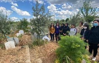 Taybet İnan'ın mezarına Anneler Günü ziyareti