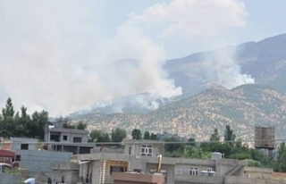 Bradost bölgesi bombalandı