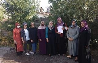 Erciş'ten sonra AKP Muradiye Kadın kolları...