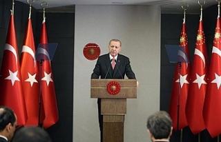Erdoğan: Ayasofya'yı yanlış bir kararla müzeye...