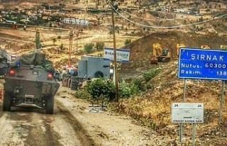 Şırnak'ta 22 bölge yasaklandı: Cudi'de...