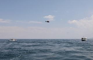 Van'da Batan tekne halen bulunamadı