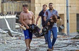 Lübnan insani krizle karşı karşıya: Ölü sayısı...