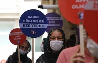 791 kadın HDP'lilerin bırakılmasını istedi