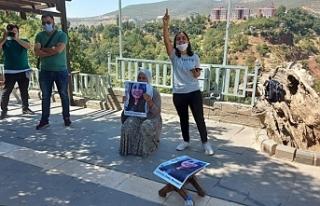 Gülistan Doku'nun ailesi oturma eylemi başlattı