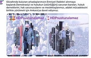 HDP'den hukukçulara 'adalet mücadelesi'...