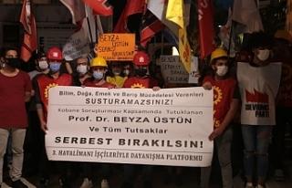 3'üncü Havalimanı işçilerinden Beyza Üstün'e...