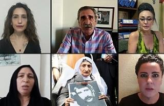 Cumartesi Anneleri Cemil Kırbayır'ı andı: 12...