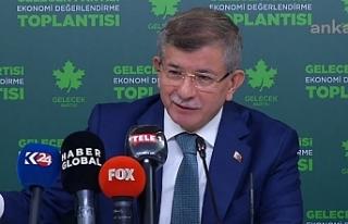 Davutoğlu: Cumhurbaşkanı vaaz veremez